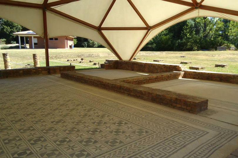 Villa Romana Russi Ravenna visita guidata