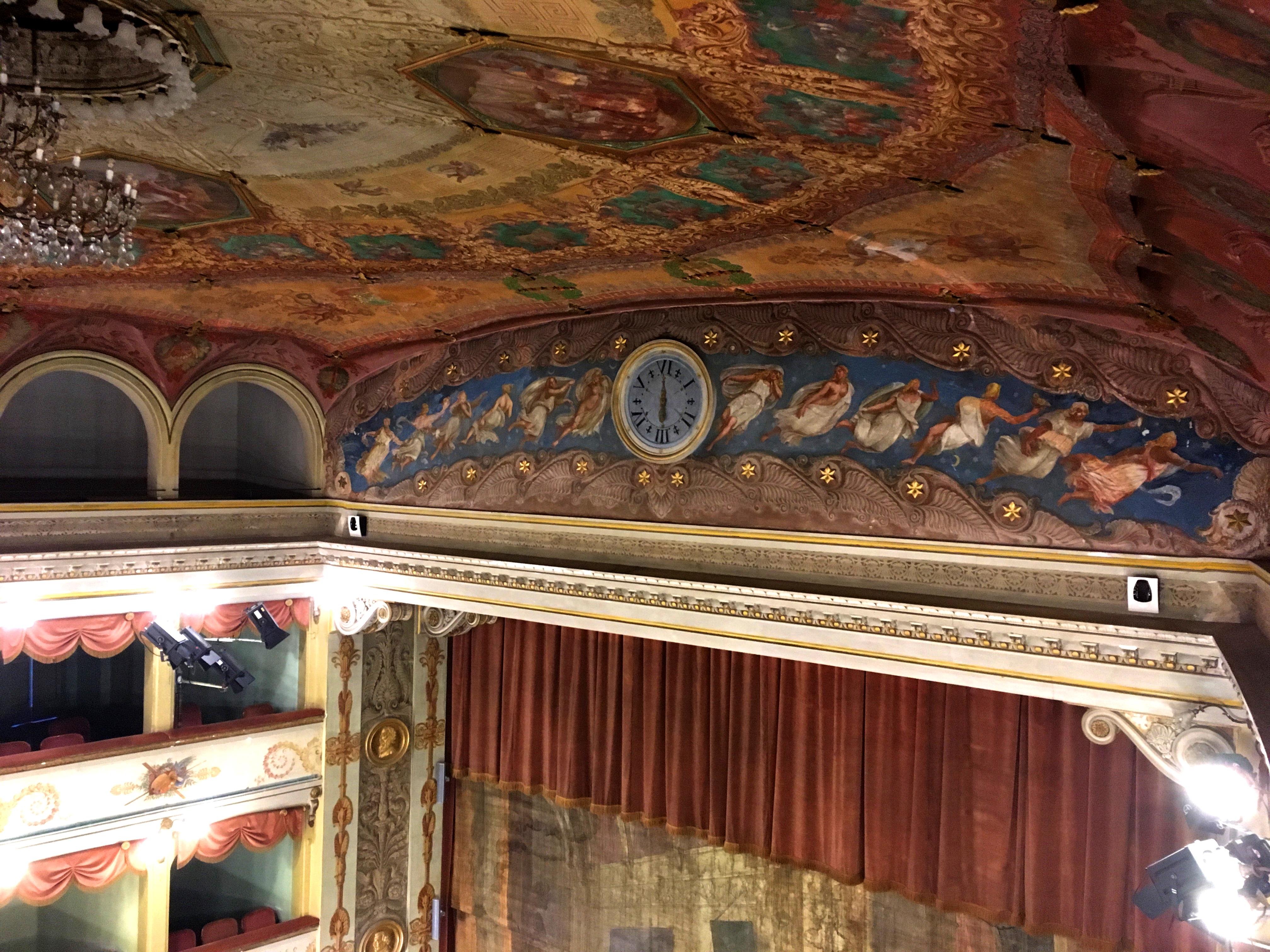 Bagnacavallo teatro visita guidata